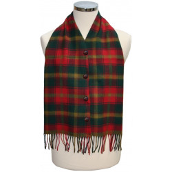 Maple Leaf Tartan Waistcoat Scarf