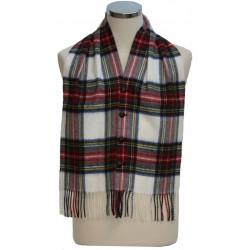 Stewart Dress Modern Tartan Waistcoat Scarf