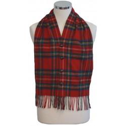 Stewart Royal Modern Tartan Waistcoat Scarf