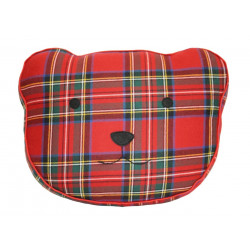 Royal Stewart Modern Tartan Bear Cushion