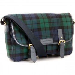 Black Watch Modern Tartan Satchel