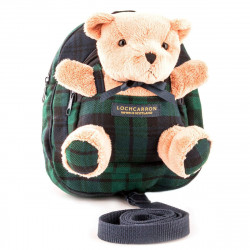 Black Watch Modern Tartan Children's Teddy Bear Back Pack