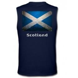 Scotand Grunge Scottish Flag