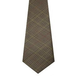 Crail Check Tweed Wool Tie