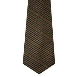Ednam Check Tweed Wool Tie