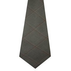 Oban Check Tweed Wool Tie