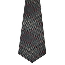 Plockton Check Tweed Wool Tie